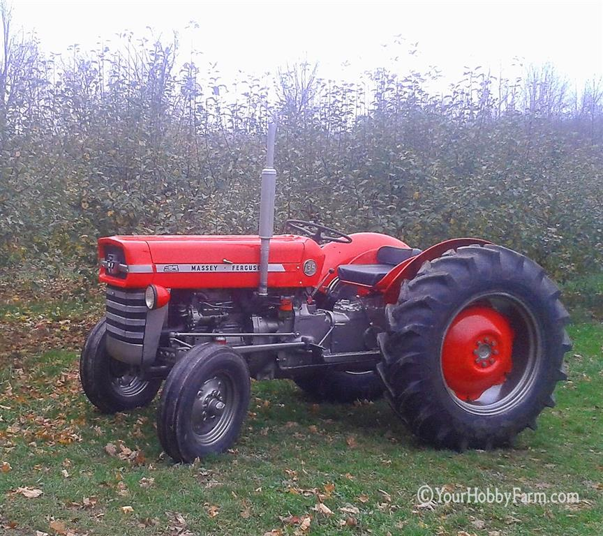 I/&T Workshop Manual Massey-Ferguson MF135 MF150 and MF165 Tractor Service